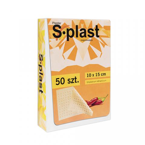 Plaster rozgrzewający S-plast (50 sztuk)
