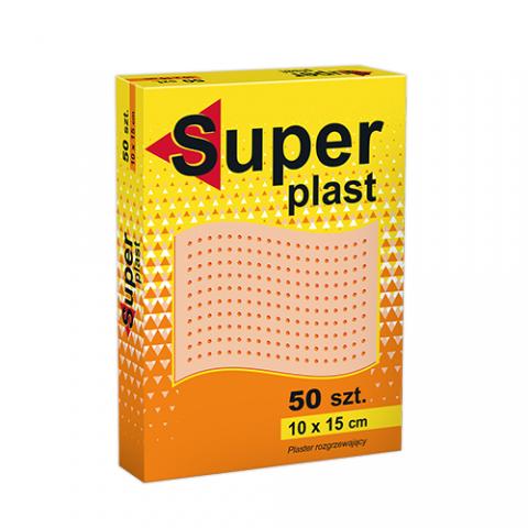 Plaster rozgrzewający Super plast (50 sztuk)